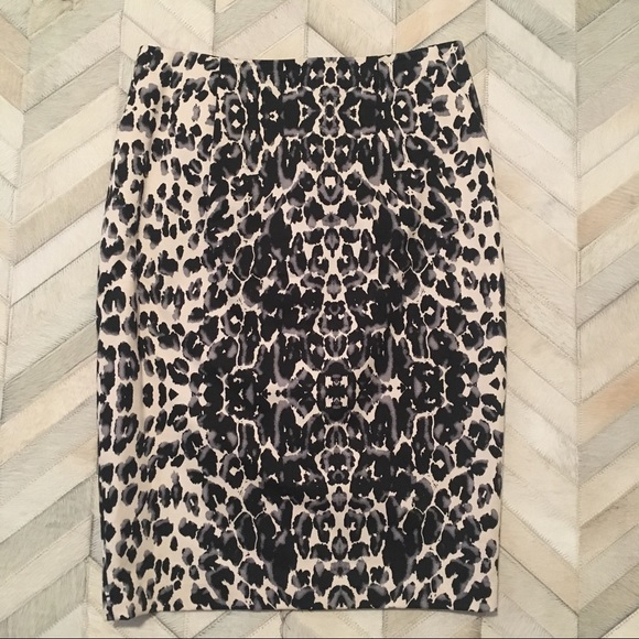 Mossimo Supply Co. Dresses & Skirts - Animal Print Pencil Skirt - 6 - Leopard